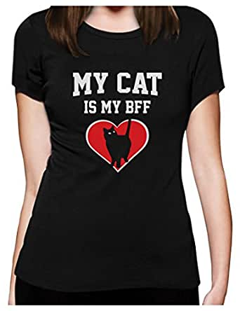 Green Turtle T Shirts My Cat Is My Bff Gift For Cat Lovers