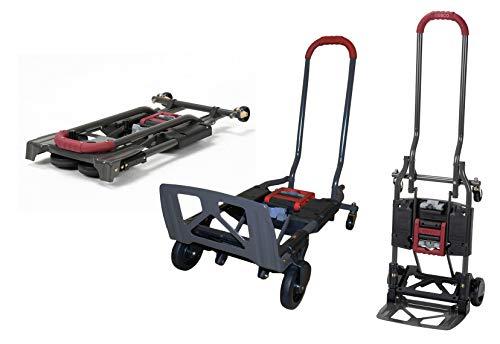COSCO Shifter 135kg Multi Funktion Klappbar Handwagen und Sackkarre (Rot)