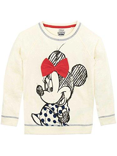 (Minnie Mouse Disney Minni Maus Mädchen Sweatshirt 98 cm)