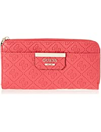 GUESS - Bobbi, Carteras Mujer, Rojo (Red/Red), 21x10x2 cm