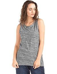GAP Women's Plain Regular Fit Cotton Top