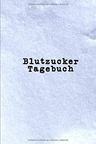 Blutzucker Tagebuch: 52 Wochen | Log Buch