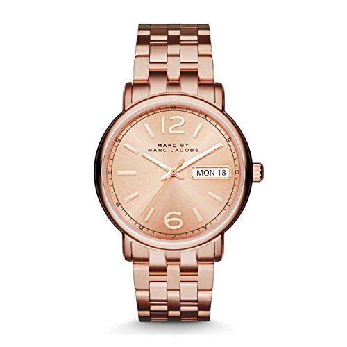 Marc by Marc Jacobs Men's MBM3439 Rose-Gold Stainless-Steel Quartz Fashion Watch