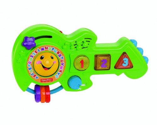 Fisher-Price Guitarra, ríe y aprende italiano (Mattel Y7778IT)