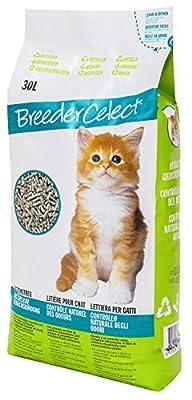 FIBRECYCLE Breeder Celect Paper Pellet Cat Litter 30L 30l pack of 1