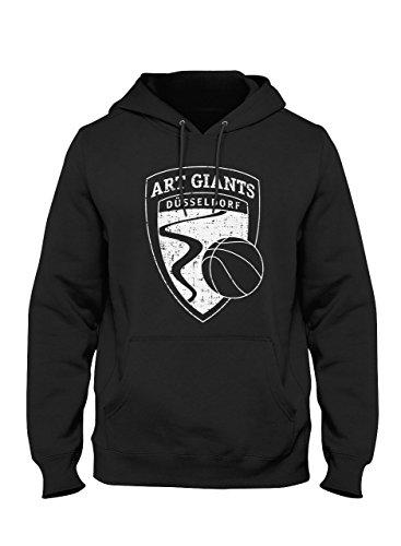ART Giants Hoodie Vintage Logo. Hoody für echte Düsseldorfer Basketball Fans. Qualität 80% Baumwolle (XL) - Art Herren Hoodie