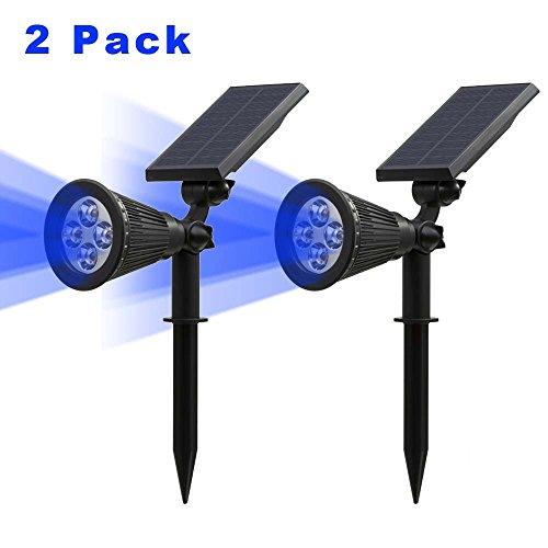 2-pack250-lumenst-sun-led-solar-spotlight-4-led-blue-waterproof-outdoor-security-garden-landscape-la