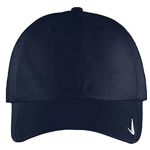 Authentique Nike Sphere Dry rapide Swoosh Profil bas réglable brodé - Cap Marine