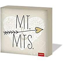 Mr. & Mrs.: Servietten (Geschenkewelt Mr. & Mrs.)