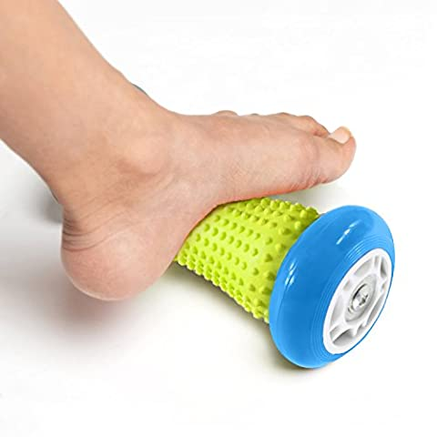 Foot Massage Roller - Muscle Roller Stick - Wrists and Forearms Exercise Roller for Plantar Fasciitis