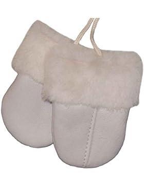 SamWo, Baby Guanti in vera pelliccia d' agnello, prodotto morbida calda naturale per bambini da 0–11/2anni...