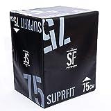 Suprfit 3-in-1 Soft Plyo Box EPE Version - Jump Box für plyometrisches Training & Sprungkrafttraining, Sprungbox mit 50, 60 oder 75 cm, befüllt mit verdichtetem Schaumstoff zum Schutz vor Verletzungen