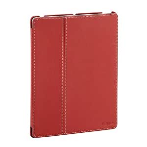 Targus Premium Click-in Case Cover Stand with Magnetic Sleep Wake Function for New iPad 3 - Red Twill