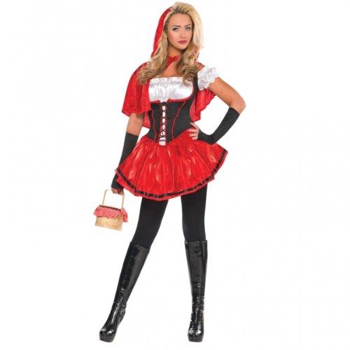 Dguisement-du-Petit-Chaperon-Rouge-Pour-Femme-Adulte-L-Taille-UK-1416