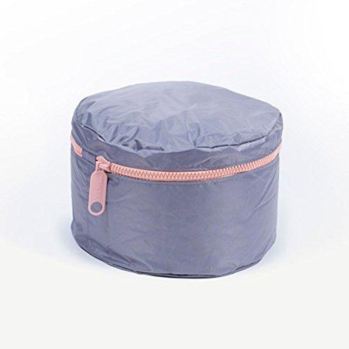 Pufmania Sitzsack Hocker abnehmbar-Design Einheitsgröße Lila