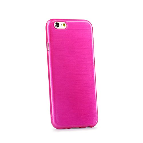 Trendige TPU Silikon Handy Back Case Schutz Hülle pink für 'Apple Iphone 6s' Cover Schale Tasche...