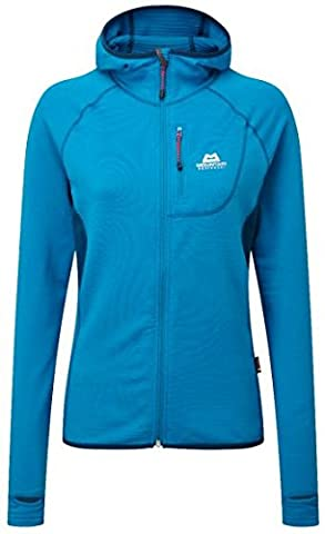 Mountain Equipment Veste fleece Eclipse Hooded Wmns Jacket Lagoon Blue/Marine 14