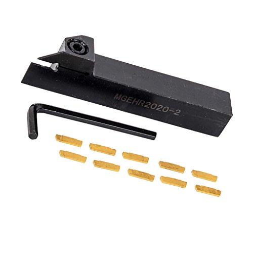 MagiDeal Externe Einstechwerkzeug Drehwerkzeughalter für MGEHR1212-2 Cut Off Tool Holder -