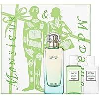 Hermes Un Jardin Sur le Nil Set d'Acqua di Cologna, Latte Idratante e Gel Doccia - 180 ml