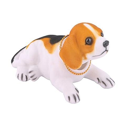 Auto Dekor Hüpfenden Kopf Beagle-gestaltung Nickende Hund Braun Schwarz Weiß
