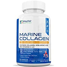 Complejo de colágeno marino 630mg | 120 grageas | Contiene colágeno, ácido hialurónico, vitaminas