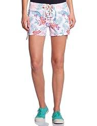 Roxy - Boxer de natación para mujer, tamaño XS, color wht multi hawai