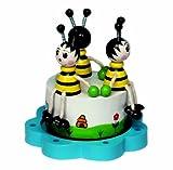 Spieluhrenwelt 43725 Holzspieluhr mit Bienen
