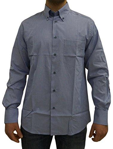 Camicia uomo manica lunga cotone sea barrier art valdes