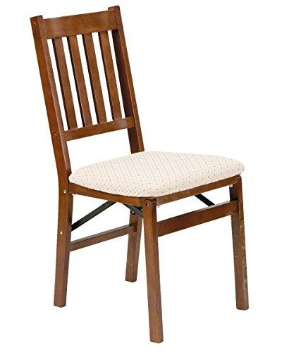 Stakmore arts and craft sedia pieghevole in legno finitura ciliegio (camoscio visone fruit)