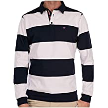 SCOTT MILLER London Polo Hombre Manga Larga Mod. Rugby