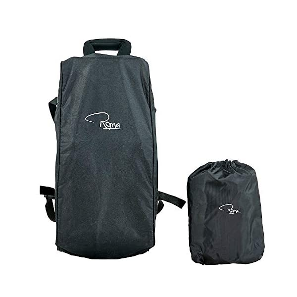 Roma Capsule² Compact Airplane Travel Buggy from Newborn + Rain Cover, Insect Net and Travel Bag, Only 5.6 kgs - Grey with a Black Chassis Roma Compact lie-back stroller - suitable from newborn to 15 kgs Includes rain cover, insect net, travel bag Locked and swivel wheels, shopping basket, 9