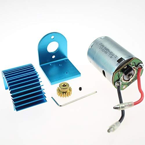 Preisvergleich Produktbild XuBa 12428 12423 1 / 12 RC Auto Ersatzteile 540 Motor 17T Motor Getriebemotor Kühler Motorsitz 12428 0121 + 0088 + 0056 + XY12017