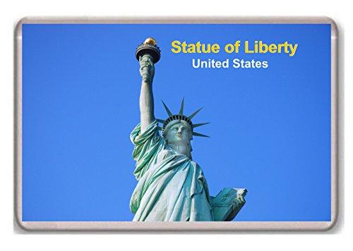 United States/New York/Statue of Liberty/fridge/magnet.!!!!!! - Kühlschrankmagnet - Statue Of Liberty-new York