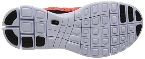 Nike Free Flyknit Nsw Herren Laufschuhe Rojo / Negro / Verde (Brght Crmsn / Blk-Grn Strk-Gm Ry-)