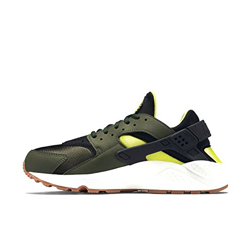 Nike Air Huarache, Low-Top Sneaker donna carbon green black 300