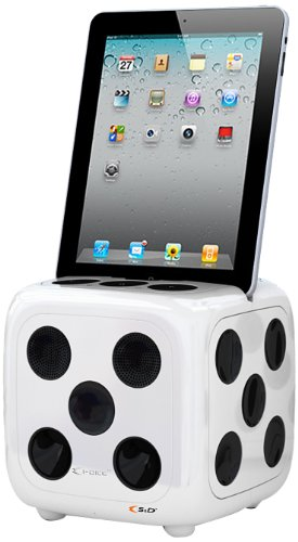 S & D Starking Idice Dockingstation für Apple iPod/iPhone/iPad 2/3 weiß