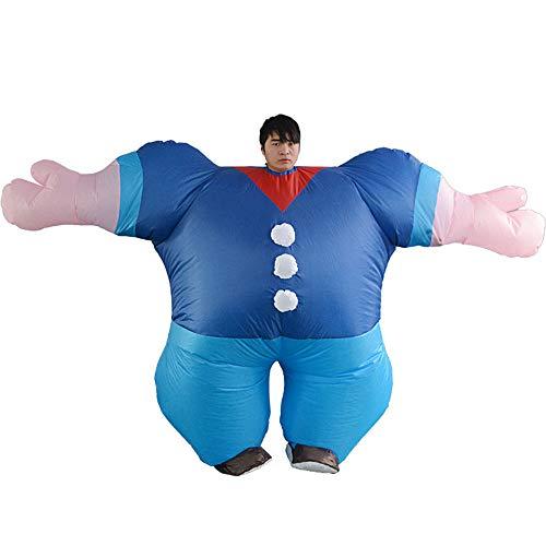 Edelehu Herkules Halloween Aufblasbare Aufblasbare Kostüm Geeignet Für Gute Clubs Parteien Schnell Inflation Adult Size (Schnelle Halloween-kostüme Gute,)