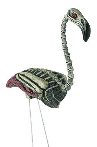 Zombie Flamingo Lawn Ornament (Zombie Flamingo)