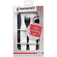 Homemaid 3 Piece Kids Metal Cutlery Set
