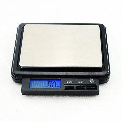 Denshine 2000g x 0.1g Digitale Küchenwaage Taschenwaage Münzwaage Laborwaage Scale