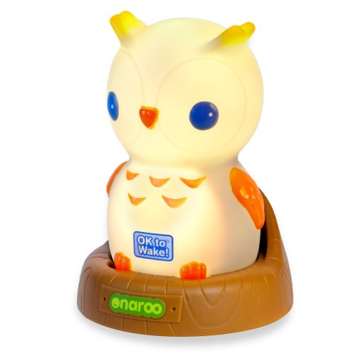 Patch Products LLC Onaroo OK to Wake. Portable Owl Nightlight and Sleep Trainer