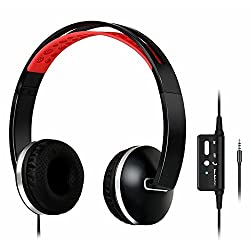 Zology Active Noise Cancelling On-ear Headphones With Mic,comfortable Protein Earpad Headset,stylish Lightweight & Foldable With Carry Case (2nd Generation, Black)