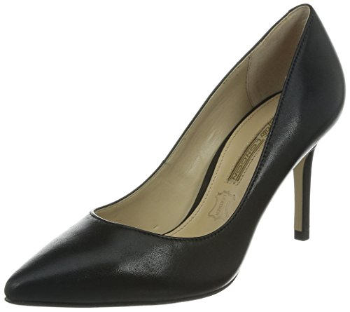 Buffalo London ZS 2990-13 NAPPA, Damen Pumps, Schwarz (BLACK 01), 38 EU