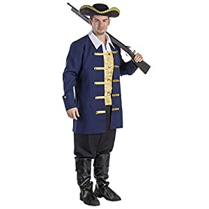 Colonial Aristocrat Costume Dress Up America Hombres (grande)