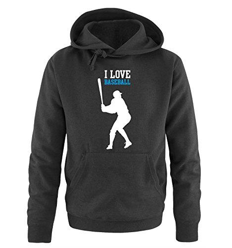 Comedy Shirts -  Felpa con cappuccio  - Maniche lunghe  - Uomo black / white-blue