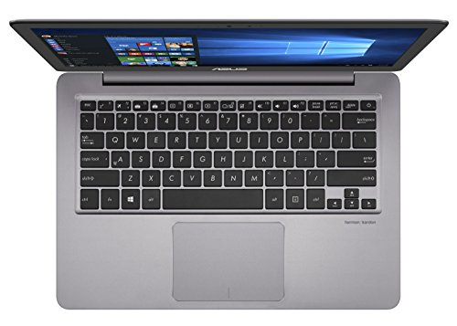 Asus Zenbook UX310UA FC662T 3378 cm 133 Zoll mattes FHD Notebook Intel central i5 7200U 16 GB RAM 256 GB SSD Intel HD Graphic Win 10 grau Notebooks