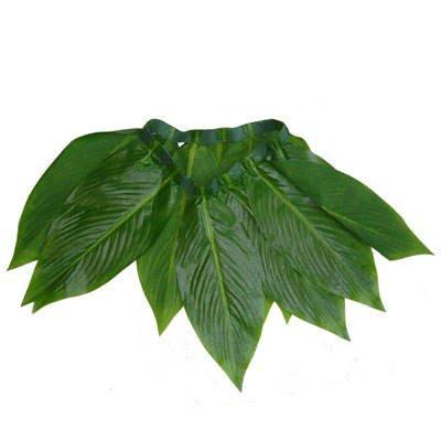 (PARTY DISCOUNT KES60472 Hawaii-Rock aus Bananenblättern)