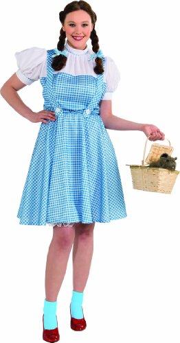 Dorothy Erwachsene Kostüme Plus (Rubie 's Offizielles Dorothy Zauberer von Oz Damen, Erwachsenen Kostüm–PLUS)