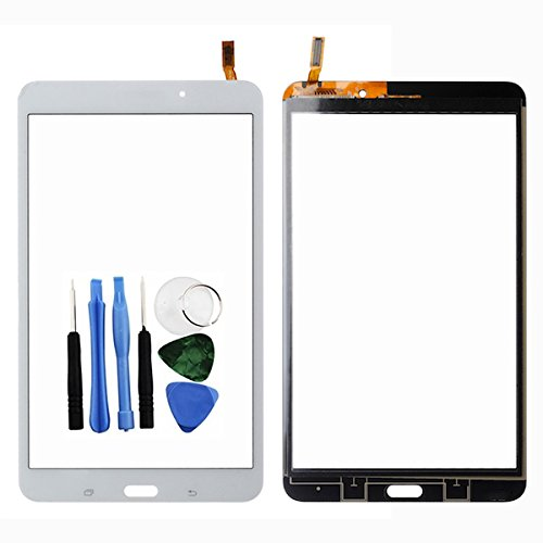 BisLinks® Für Samsung Galaxy Tab 4 8.0 Touch Bildschirm Digitizer Lens Weiß T330 T335 + Tools Ersatz Teil Lens Digitizer Screen