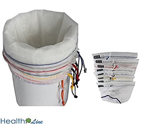 Healthline® All Mesh 5 Gallon 8 Bags Herbal Hash Ice